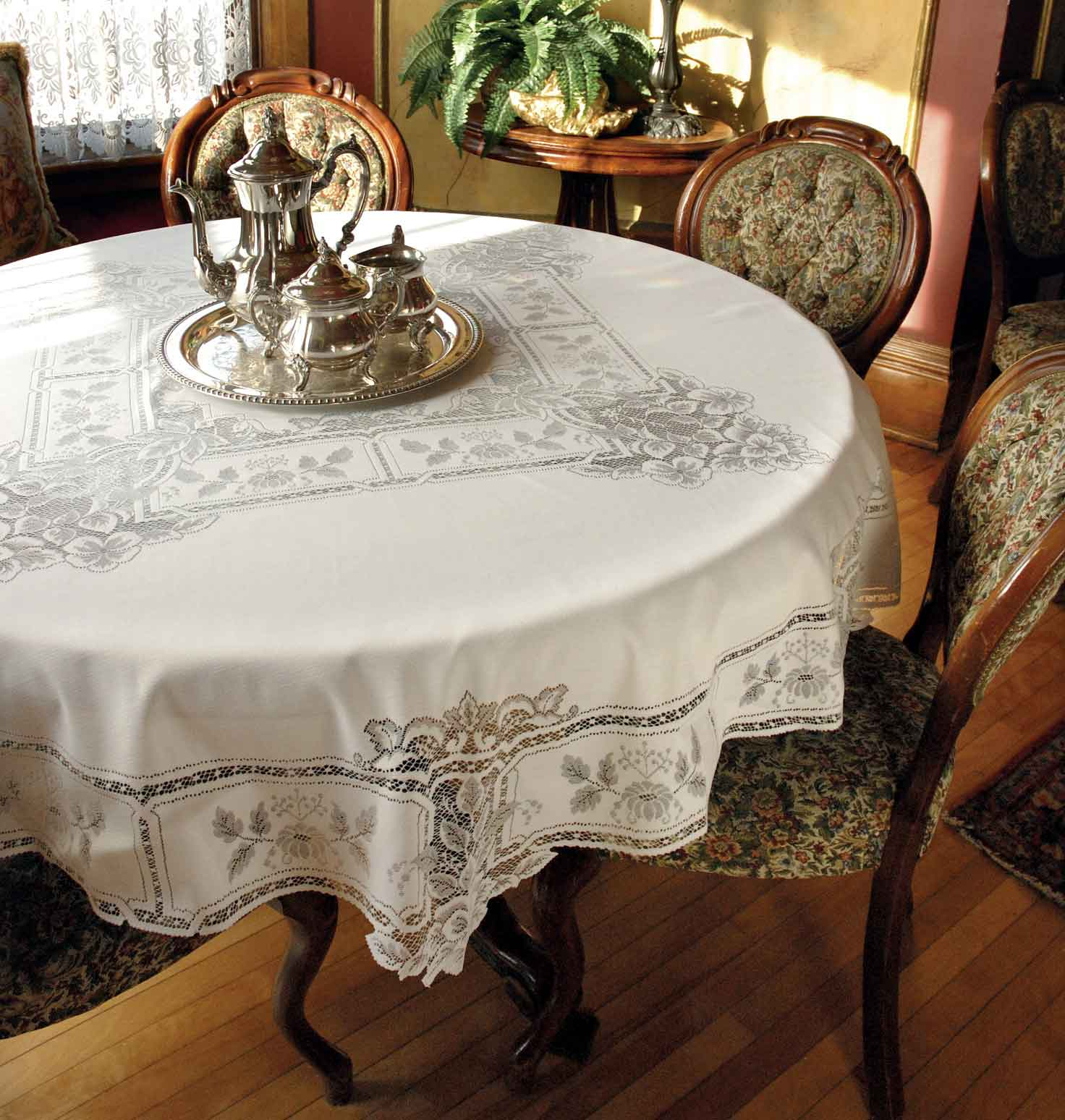 Lace Tablecloths Heirloom Heritage Lace Made In The
