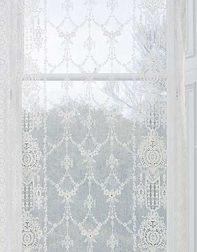 panels curtains bedroom cotton white curtain french lace