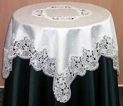 Lace Tablecloths U2013 Sara U2013 Imported From Germany