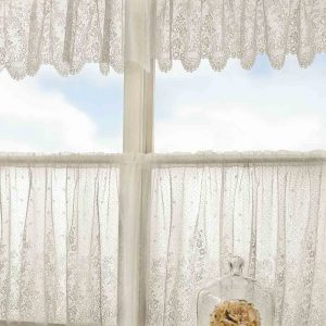 Floret Valance and Tier