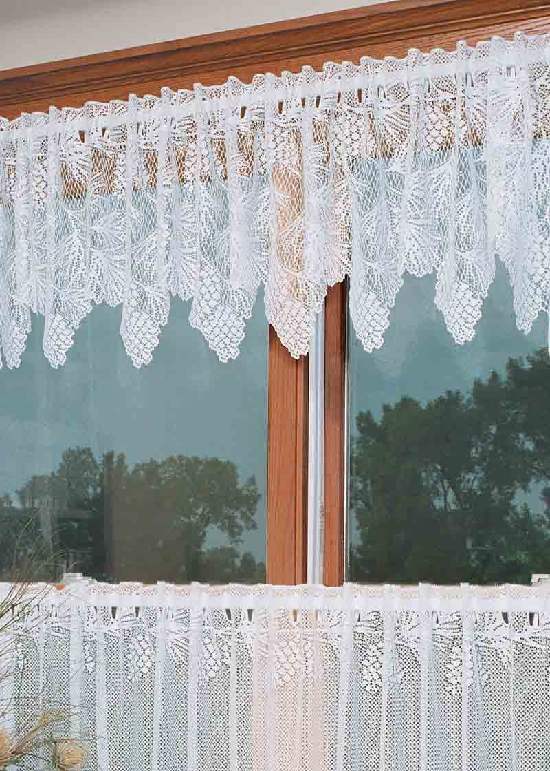 Heritage Quot Woodland Quot Lace Curtain Fit For A Mountain Cabin
