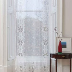 Cotton Lace Curtain-Cherubs