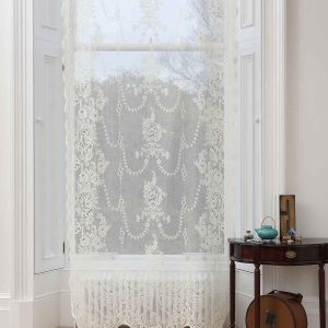 Cotton Lace Curtain-Iona