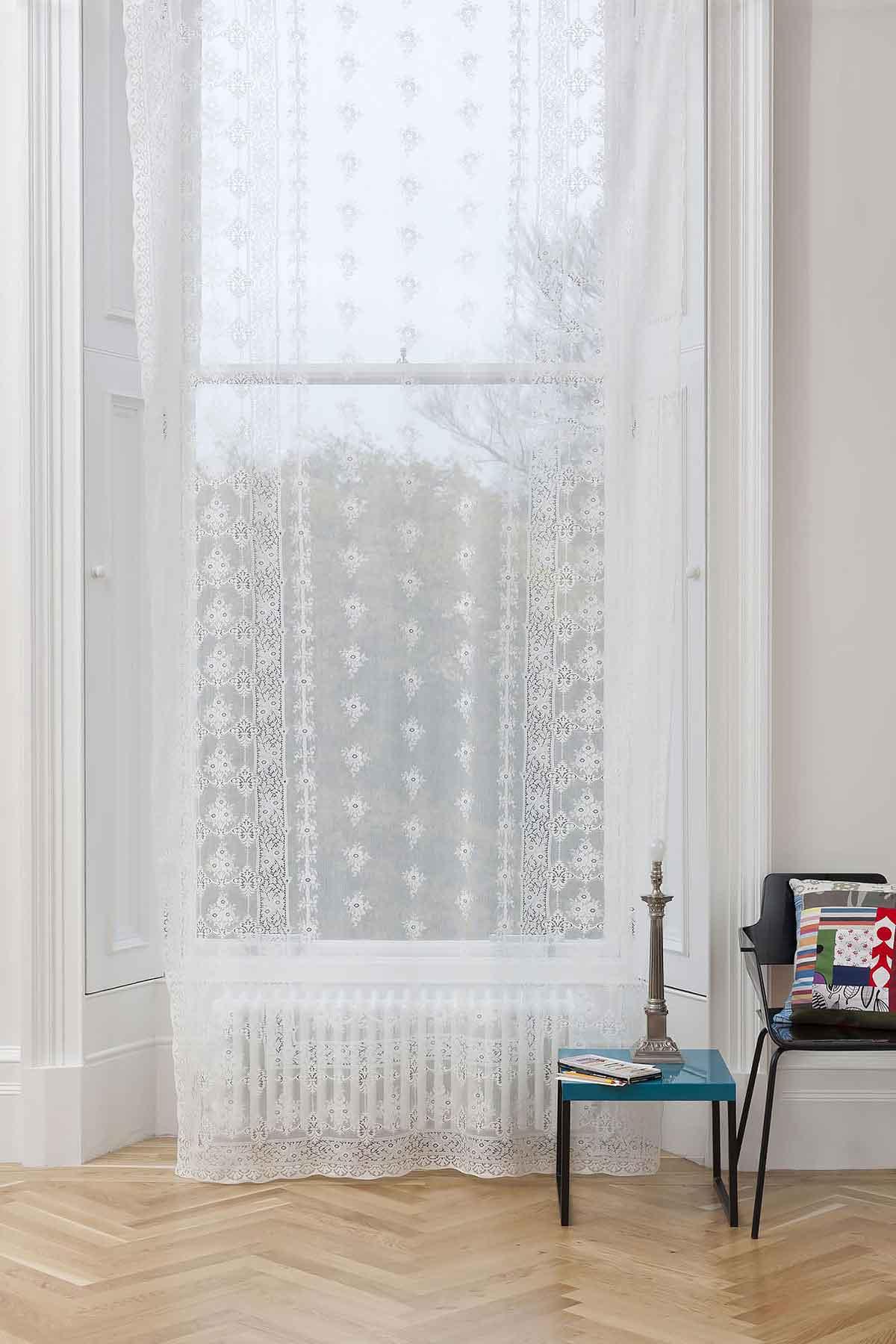 Cotton Lace Curtains Leven