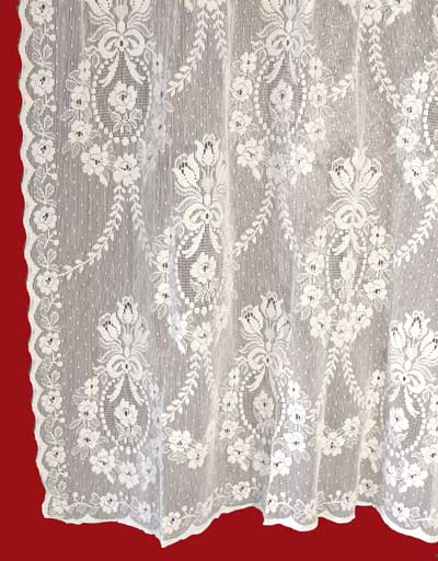 Cotton Lace Curtains Rhona