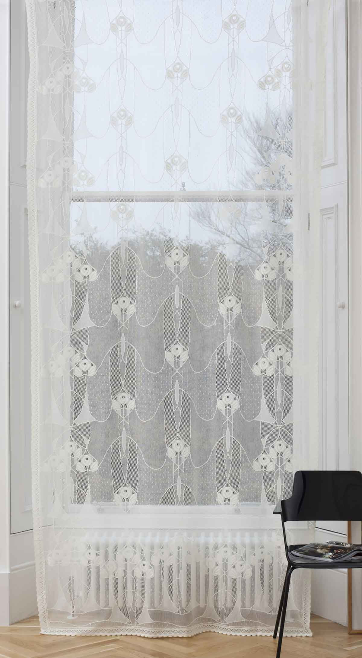 Nottingham Cotton Lace Panel Rennie