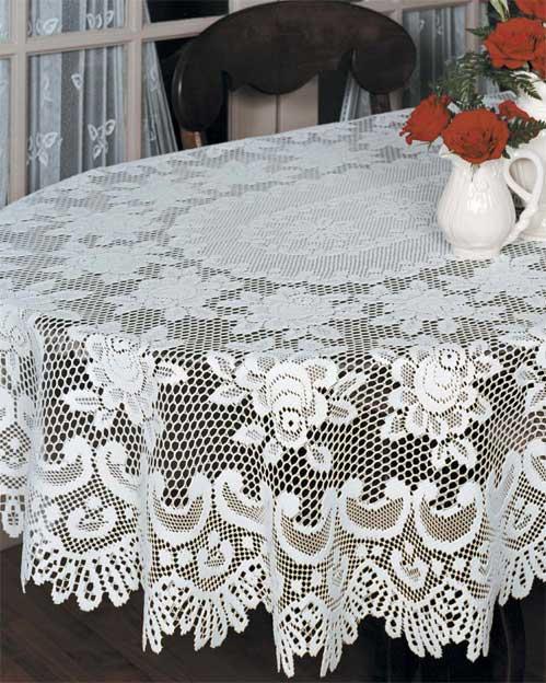 Lace Tablecloths U2013 Rose U2013 Heritage