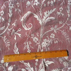 Lace Curtain Yardage-Coventry