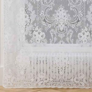 cotton lace curtain-st andrews