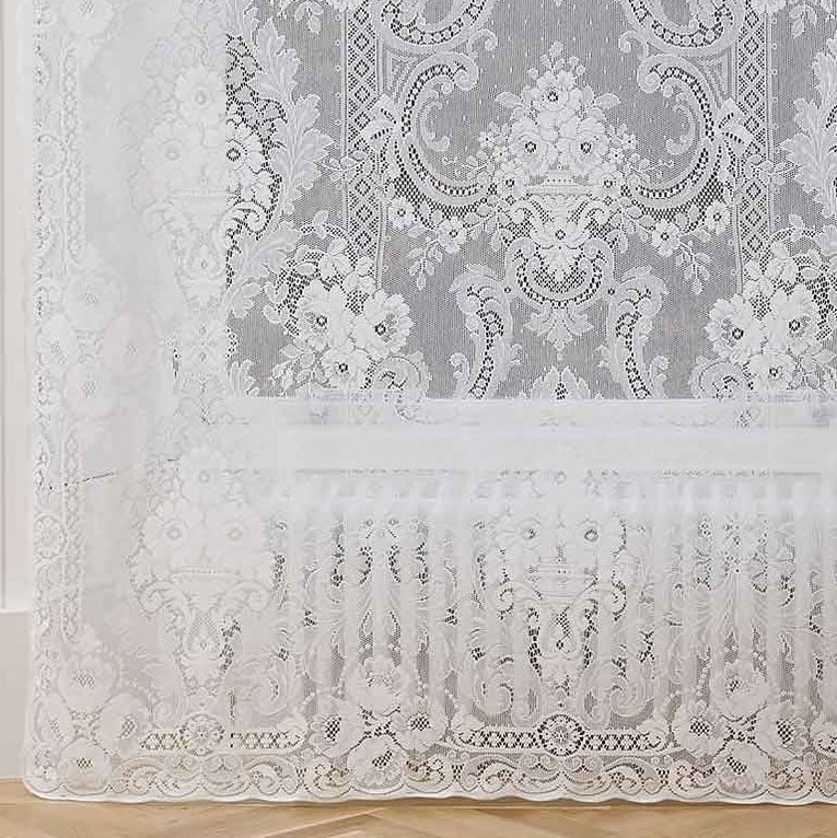 Cotton Lace Curtain St Andrews