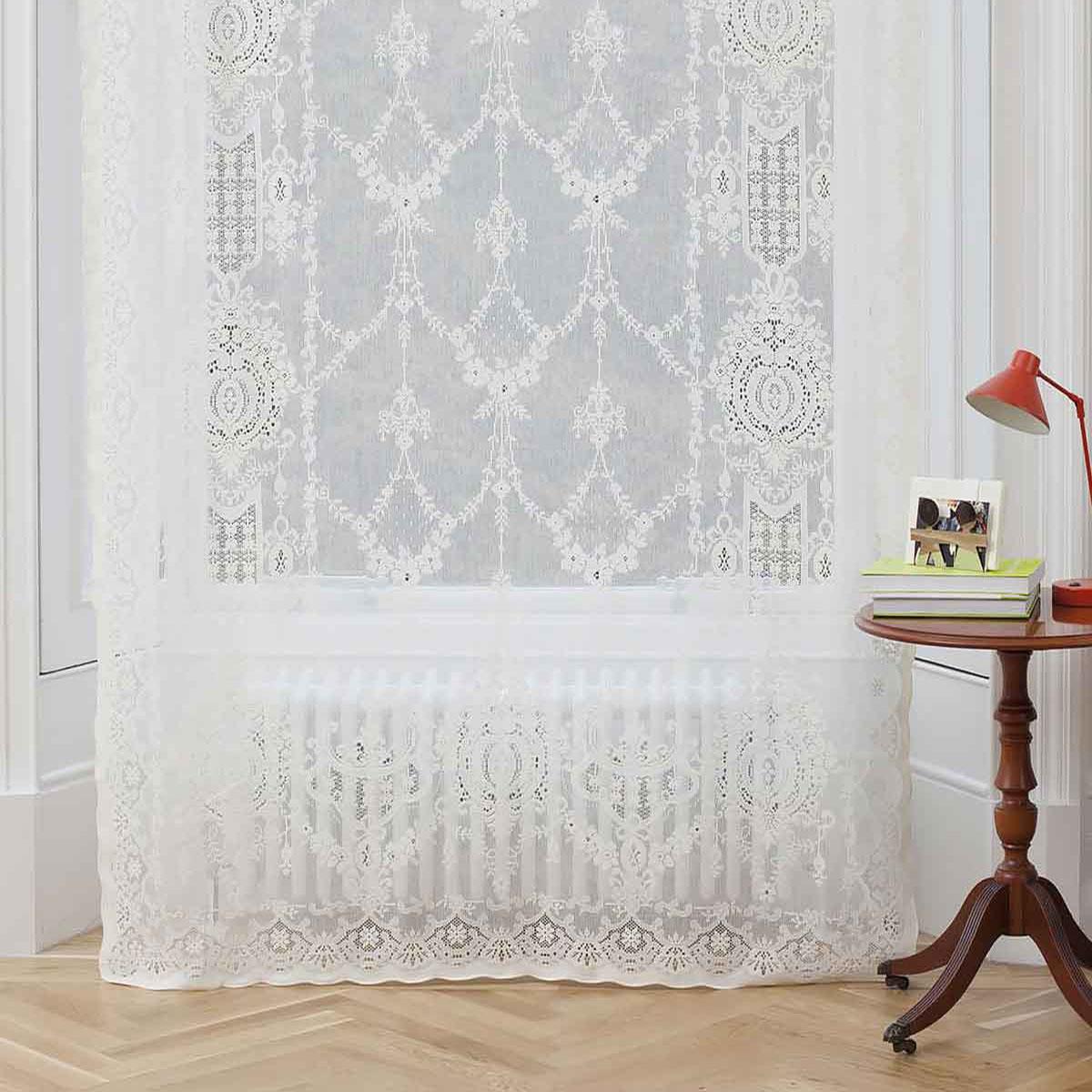 Cotton Lace Curtains Ailsa