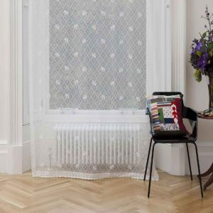 Daisy Trellis Cotton Lace Panel