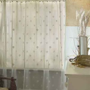 Sand Shell Shower Curtain