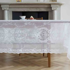 Cotton Lace Tablecloth - Lydia