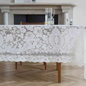Cotton Lace Tablecloth - Melrose