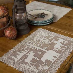 Lodge Hollow Lace Place Mat