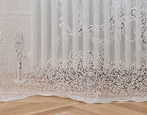 Elgin Lace Curtain Bottom Hem