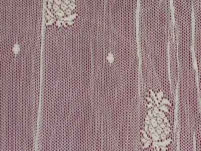 Pineapple Lace Curtain Yardage Closeup