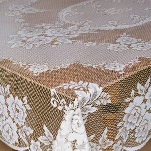 Victoian Rose Lace Tablecloths Detail