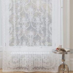 Alexandra Nottingham Lace Curtain Design