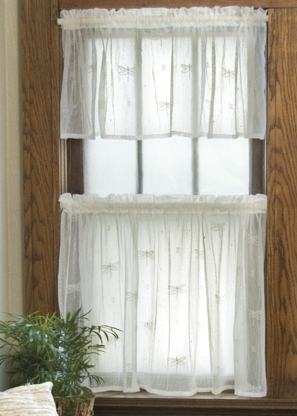 Dragonfly Lace Curtains Design