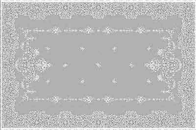 Elgin Lace Tablecloth Detail Design