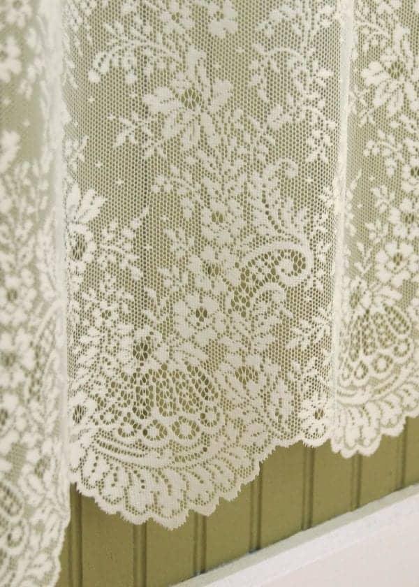 Floret Lace Curtain Design