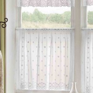 Daisy Lace Curtain Design
