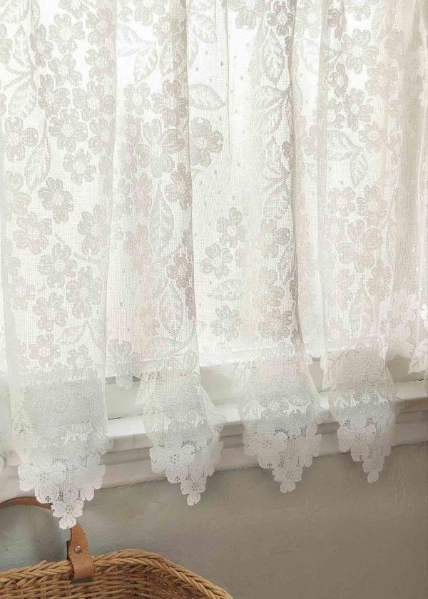 Dogwood Lace Curtain Design