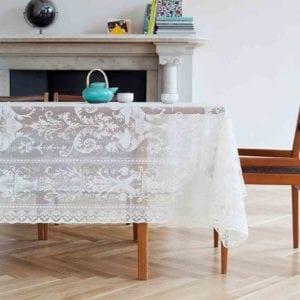 Griffin Cotton Lace Tablecloth Desgin