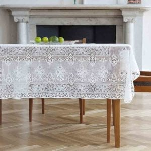 Leven Cotton Lace Tablecloth Design
