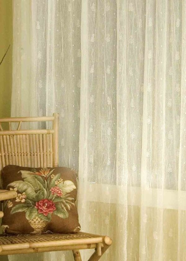 Pineapple Lace Curtains Design