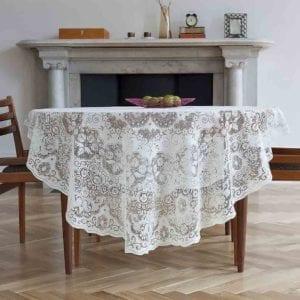Derby Cotton Lace Tablecloth Design