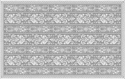 Griffin Cotton Lace Tablecloths Detail