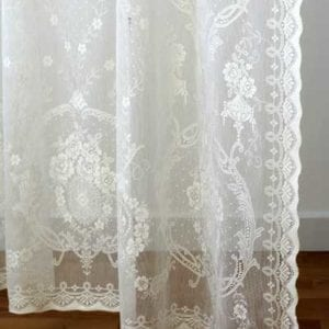 Lace Curtain in Cotton