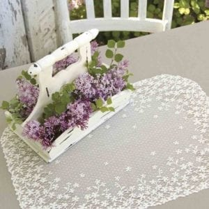 Lace Placemats - Blossom