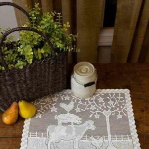 Lace Placemats Farm House