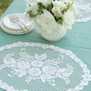 Floral Lace Placemats