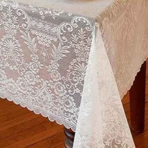 Heritage Polyester Lace Tablecloth