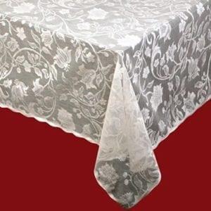Flora Cotton Lace Tablecloth Design