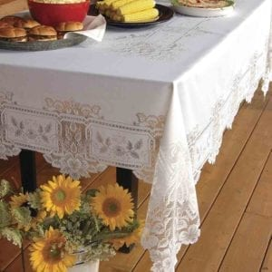 fancy lace tablecloths - heirloom