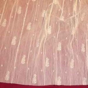 Pineapple Lace Curtain Yardage Design