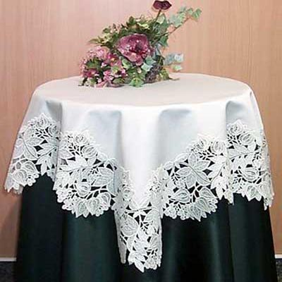 rectangular lace tablecloth from germany