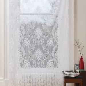 St Andrews Cotton Lace Curtain Design