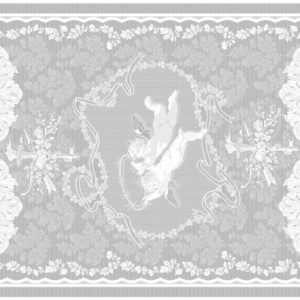 Angel Top View of Tablecloth Design