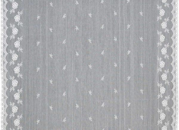 Bute Cotton Lace Fabric Design