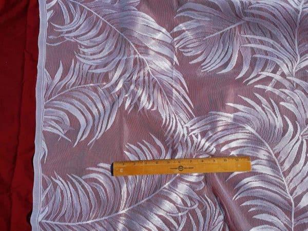 Fern Polyester Drapery Fabric Design