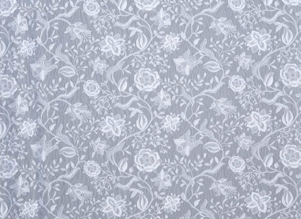 Madalyn Lace Curtain Yardage Design