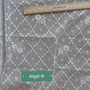 Arygll Cotton Lace Material Closeup