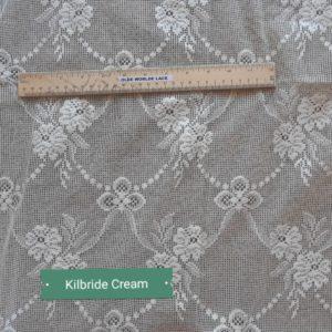 Kilbride Closeup of Lace Curtain Design
